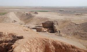 Tell Brak, an ancient city in Syria