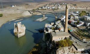 Ancient monuments in Hasankeyf