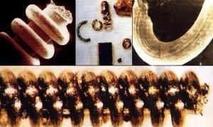 Ancient nanostructures found in Ural mountains