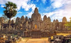 View of Angkor Wat Temple, Siem Reap, Cambodia. Source: tawatchai1990 / Adobe Stock.