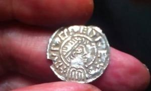 Hoard of 5,000 Anglo Saxon coins