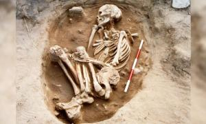 Study of 110 Bamburgh skeletons indicates Anglo-Saxon enlightenment. Source: Bamburgh Bones