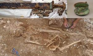 Mighty Anglo-Saxon Warrior Grave May Throw Light On the Dark Ages