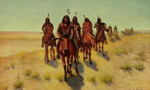 pache Indian tribes were known as good fighters and strategists. Some fought the encroachment of Europeans onto their lands, and others tried to get along with them. They did not have horses until shortly after the Spanish arrived in Mexico in the 1500s, but once they adopted them they became great horsemen.