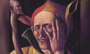 The laughing jester // Art museum of Stockholm, Sweden.