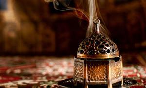 Arabian incense burner