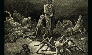 Arachne and the Spider in Dante