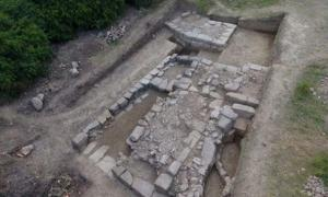 Discovery of an ancient city in Albania.
