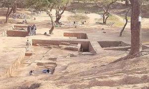Capital of Vakataka dynasty excavated in Nagpur