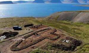 Archaeological excavation at Arnarfjörður has unearthed huge amounts of data. Researchers have also found data within the texts of ancient Icelandic sagas, as well as drone technology to identify possible dig sites. Source: Margrét Hallmundsdóttir