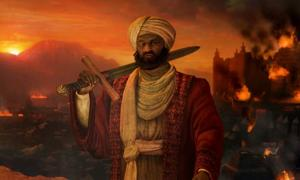 Askia the Great, ruler of the Songhai Empire 1493 to 1528, in the Game Civilization V.