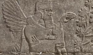 Assyrian artwork sold by Christies.