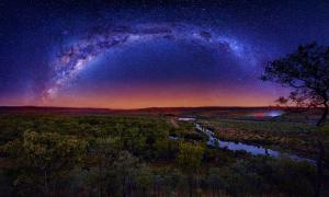 The Milky Way is important in Australian Aboriginal astronomy