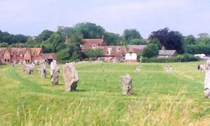 Avebury Stone Circle, Wiltshire, England