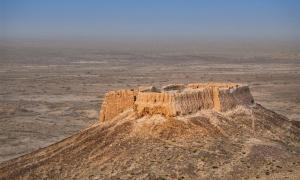 Smaller Ayaz Kala ruins. (bbsferrari /Adobe Stock)