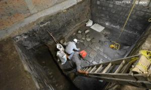 Aztec Palace Complex and Later Cortes Home Unearthed in Mexico City