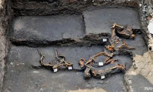Aztec dog cemetery