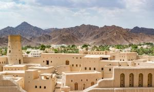 Bahla Fort, one of four historic fortresses in Oman