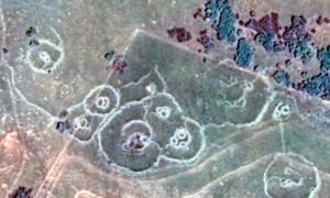 Bakoni ruins in the hills of Machadodorp