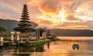 Pura Ulun Danu Bratan at Bali, Indonesia (zephyr_p/ Adobe stock)