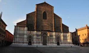 San Petronio Basilica, Bologna, Italy.