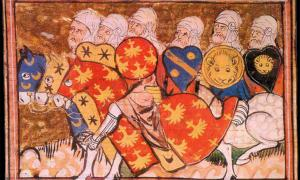The Army of Saladin, Guillaume de TyrParis, 1337. Source: Public domain