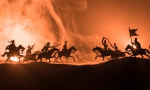Battle Scene. Credit: zef art / Adobe Stock