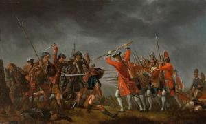 'The Battle of Culloden' 1746 by David Morier. Source: Public Domain
