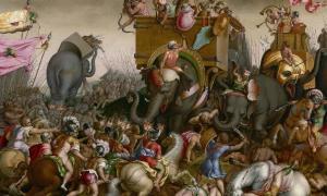 The Battle of Zama. Source: Art Institute of Chicago / Public domain