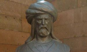 A statue of Batu Khan in Turkey.