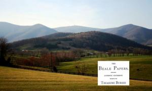 """A view of Bedford County, Va., where the supposed treasure of """"The Beale Papers"""" is said to be buried."""