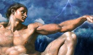 Creation of Adam and deluge