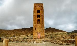 The ruins of Beni Hammad Fort.
