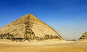 The Bent Pyramid at Dahshur necropolis is being reopened to the public.
