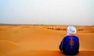 The Berbers, lords of the desert.