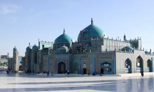 Blue Mosque, Afghanistan