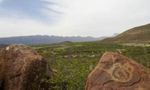 Petroglyphs at boca de Potrerillos, Nuevo León México. Source: theneonjaguar /Adobe Stock