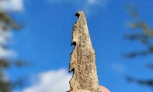 Stone Age Peoples Made Bone Arrowheads - From Human Bones!