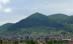 Bosnian Sun Pyramid Lookout.