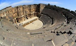 The Theater of Bosra, Syria (CC by SA 3.0)