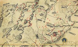 Map of Caithness detailing Iron Age brochs. (Courtesy of the Caithness Broch Project.)