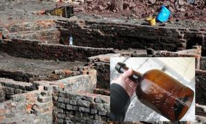 Intact Brandy Bottles and 200-Year-Old Pub Discovered Under Building Site in Manchester