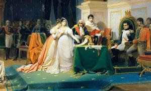 'The Divorce of the Empress Josephine' (1843) by Henri Frédéric Schopin