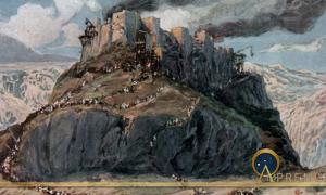 The Conquest of the Amorites, as in Numbers 21:25, by James Tissot, before 1903.