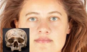 Facial Reconstruction of Bronze Age Woman from 3,700-Year-Old Skull Brings Her Story Back to Life