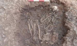 Bronze Age skeleton found at Stragglethorpe, during archaeological work on the Highways Agency scheme, England. Representational image only.  (CC BY 2.0)