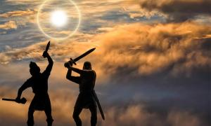 Sword fight. Credit: Oleksandr / Adobe Stock