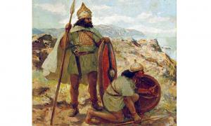 Bronze Age warriors on the lookout