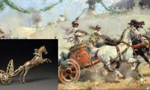 2000-Year-Old Bronze Toy Provides Clues on How the Best Roman Chariots were Constructed to Win Races
