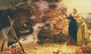 A Visit to the Witch by Edward Frederick Brewtnall